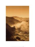 Rocío del océano Lámina por Christian Michaels