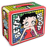 Betty Boop Retro Vintage Metal Lunchbox Lunch Box