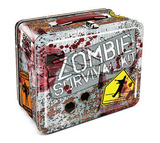 Zombie Survival Kit Metal Lunchbox Lunch Box