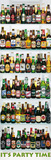 Beer Bottles (It's Party Time) Art Poster Print Fotografia