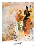 Salvador Dali Hallucinogenic Toreador Art Print Poster Posters