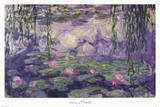 Claude Monet Ninfee Water Lilies Art Print Poster Photo