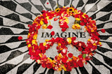 Imagine (John Lennon Memorial) Music Poster Print Prints