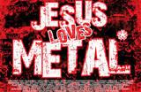 Jesus Loves Metal Art Poster Print Foto