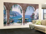 Sung Kim Mediterranean Arch Wall Mural