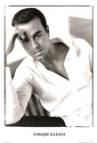 Enrique Iglesias White Shirt Music Poster Print Poster