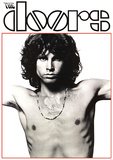 Jim Morrison (Doors, Shirtless) Music Poster Print Posters