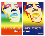 Barack Obama Tested in More Ways Then Won Art Print Poster Reprodukcje
