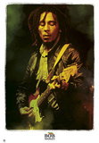 Bob Marley Legendary Music Poster Print Print