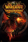World of Warcraft Cataclysm Deathwing the Destroyer Video Game Poster Print Prints