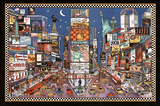 New York City Times Square Artistic Art Print Poster Posters