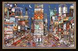 New York City Times Square Artistic Art Print Poster Prints