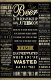 Drinking Quotes College Poster Print Prints