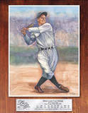 Lou Gehrig Legends of the Game Baseball Sports Tin Sign