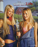 Simple Life (Nicole & Paris w/ Pitchfork) TV Poster Print Billeder