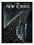 The New Yorker Cover - July 27, 1940 Giclee Print by Christina Malman