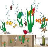 Underwater World 79 Wall Stickers Kalkomania ścienna