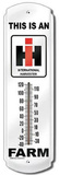 This Is An IH Farm Indoor/Outdoor Thermometer Tin Sign