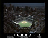 Colorado Rockies Coors Field First Opening Day April 26, c.1995 Sports Posters by Mike Smith