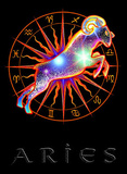 Aries Astrological Sign Art Print Poster Prints