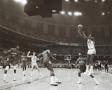 Michael Jordan In Action Sports Poster Print Poster