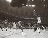 Michael Jordan In Action Sports Poster Print Poster