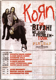 Korn Tour Music Poster Print Prints
