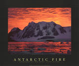 Simon Fraser Antarctic Fire II Photo Print Poster Posters