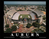 Auburn University Jordan-Hare Stadium NCAA Sports Plakat
