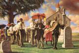 Sarah Jenkins (Uncle Joe's Funeral) Art Poster Print Print