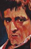 Stephen Fishwick Pacino Art Print Poster Posters
