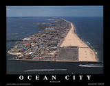Ocean City Maryland Posters by Mike Smith