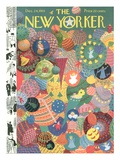 The New Yorker Cover - December 24, 1955 Giclee Print by Christina Malman