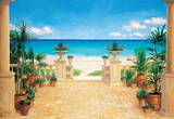 James McGairy Terrace Seascape Huge Wall Mural Art Print Poster Wall Mural