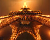 Jim Zuckerman Below the Eiffel Tower Art Print Poster Photo