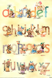 Learn your ABC&#39;s Educational Poster Poster