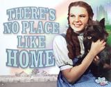 Wizard of Oz Movie No Place Like Home Plechová cedule