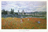 Claude Monet Field of Poppies Art Print Poster Print