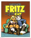 R. Crumb (Fritz the Cat) Art Poster Print Posters