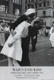 Victor Jorgensen War's End Kiss VJ Day Art Print Poster Kunstdrucke