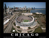 Chicago Bears New Soldier Field Sports Poster by Mike Smith