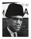 Malcolm X Face Art Print Poster Photo