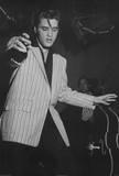 Elvis Presley White Jacket Music Poster Print Print