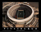 Pittsburgh Steelers Three Rivers Stadium Sports Posters por Mike Smith