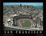San Francisco Giants AT&T Park Sports Kunstdrucke von Mike Smith