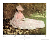 The Reader Posters by Claude Monet