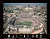 Baltimore Ravens Stadium First Opening Game Sept 6, c.1998 Sports Poster by Mike Smith