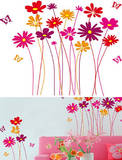 Flower Meadow 42 Wall Stickers Autocollant mural