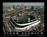 Detroit Tigers Tiger Stadium Final Day Sept. 27, c.1999 Sports Poster av Mike Smith