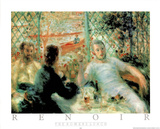 The Rowers Lunch Posters af Pierre-Auguste Renoir